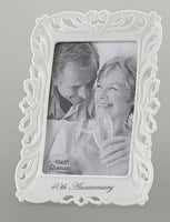 40th Wedding Anniversary Frame Photo 4x6