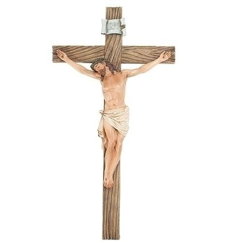 "Wall Crucifix Exclusive Renaissance Collection (13 3/4"") - Unique Catholic Gifts"