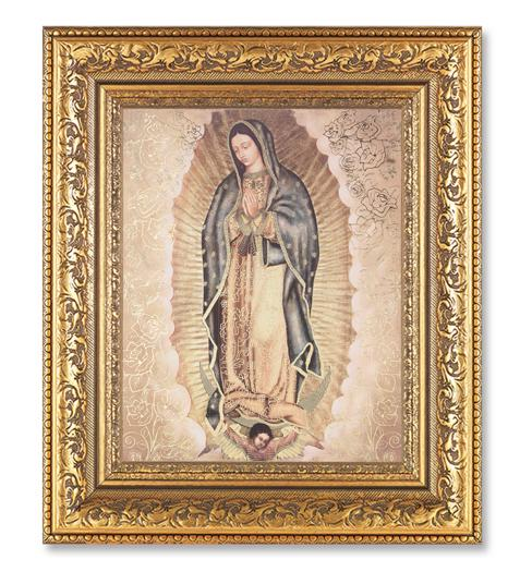 Gold Our Lady Of Guadalupe 12 12 X 14 12 In Gold Leaf Antique
