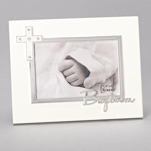 "Baptism Frame 7"" from the Carolina Collection (4"" x6"")"