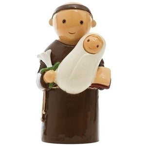 Saint Anthony Little Drops of Water Figure - Unique Catholic Gifts
