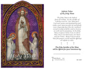 Holy Mass Holy Card (Embosed)