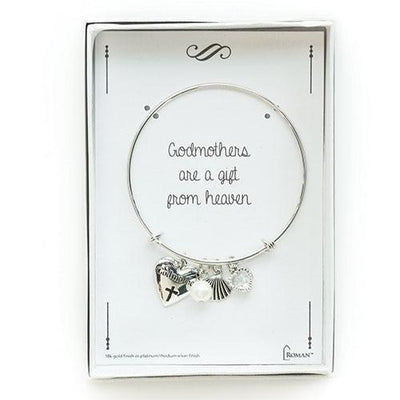 Silver Godmother Bracelet - Unique Catholic Gifts