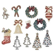 Christmas Pin (12 Different Kinds)