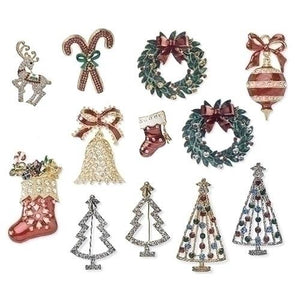 Christmas Pin (12 Different Kinds) - Unique Catholic Gifts