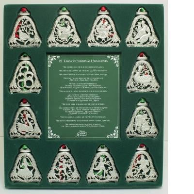 12 Days of Christmas Ornament Set - Unique Catholic Gifts