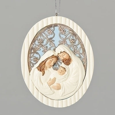 Holy Family Laser Ornament 5 1/2