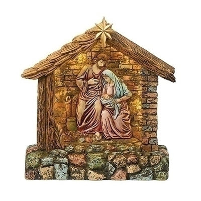 Standing Nativity LED Decoration  7 1/4
