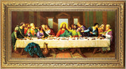 The Last Supper Framed Print by Zabateri