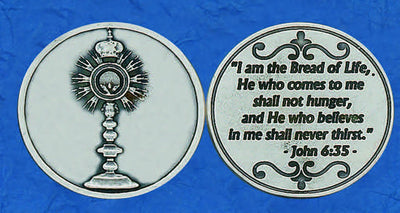Monstrance Pocket Token made in Italy