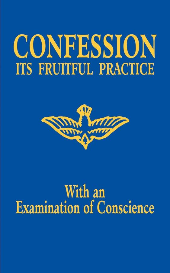 Confession It's Fruitful Practice (with an Examination of Conscience) - Unique Catholic Gifts