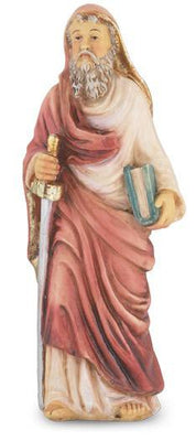 St Paul Statue hand painted solid resin (4