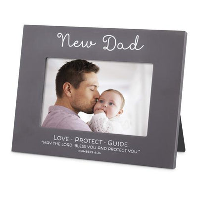 New Dad Picture Frame (hold 6