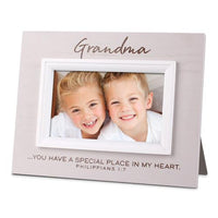 "Special Grandma picture frame. (holds 3 x 5"" Photo) - Unique Catholic Gifts"