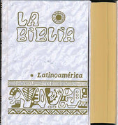Biblia Latinoamérica, bolsillo, nacarina - Unique Catholic Gifts