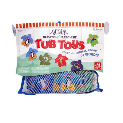 Ocean Catch & Match™ Tub Toys - Unique Catholic Gifts