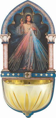 Divine Mercy Multi- Dimensional Holy Water Font (5