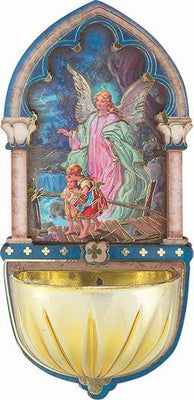 Guardian Angel Multi- Dimensional Holy Water Font (5
