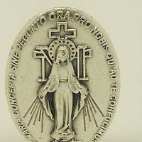 Miraculous Medal Holy Water Glass Bottle - Unique Catholic Gifts