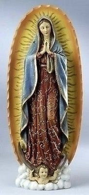 "7.25"" Our Lady of Guadalupe Statue - Unique Catholic Gifts"