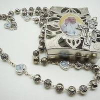 Pope Francis Rosary with prayer, gift set - Unique Catholic Gifts