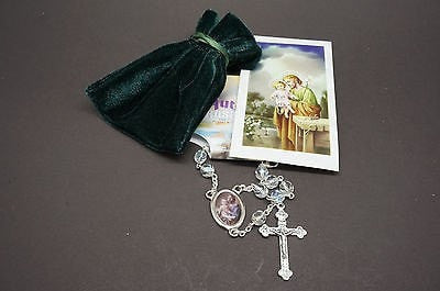 2 Saint Joseph Rosary for car rear view mirror - Unique Catholic Gifts