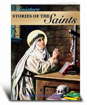 Miniature Stories of the Saints Book 2 - Unique Catholic Gifts
