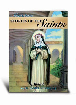 Miniature Stories of the Saints Book 8 - Unique Catholic Gifts