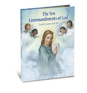 Ten Commandments: God's Laws for Us Hardcover by Daniel A. Lord (Author) - Unique Catholic Gifts