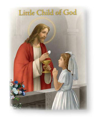 Child of God First Communion Prayer Book Girls - Unique Catholic Gifts