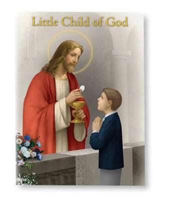 Child of God First Communion Prayer Book (boys) - Unique Catholic Gifts