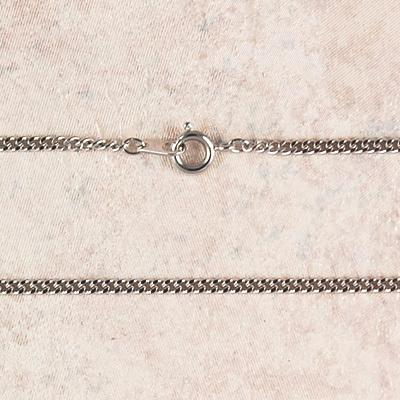 Medium Rhodium Chain (24