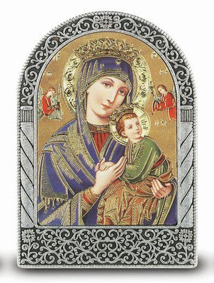 Our Lady of Perpetual Help Easel - Unique Catholic Gifts