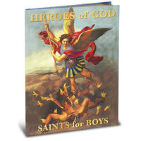 Heroes of God: Saints for Boys by Daniel A Lord, S.J. - Unique Catholic Gifts