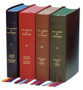 Complete Set of the Liturgy of the Hours (divine Office) Set of 4