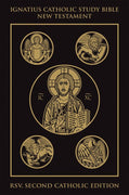 New Testament Ignatius Catholic Study Bible by Scott Hahn (Hard Cover)