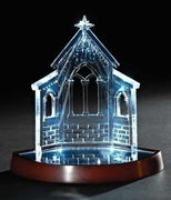 "Bethlehem Stable LED Decoration/ Ornament 7.5"" - Unique Catholic Gifts"