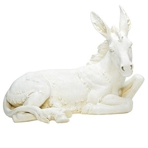 "Ivory Donkey for 39"" Nativity Set 39520 - Unique Catholic Gifts"
