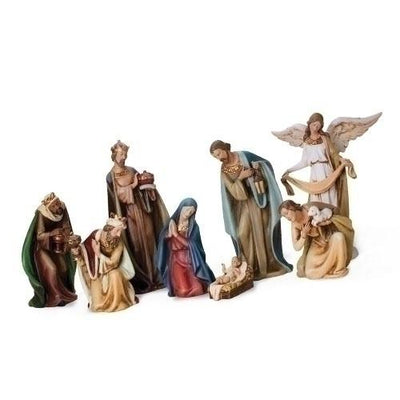 8 Piece Royal Nativity Set (12.5