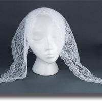 White Mantilla - Unique Catholic Gifts