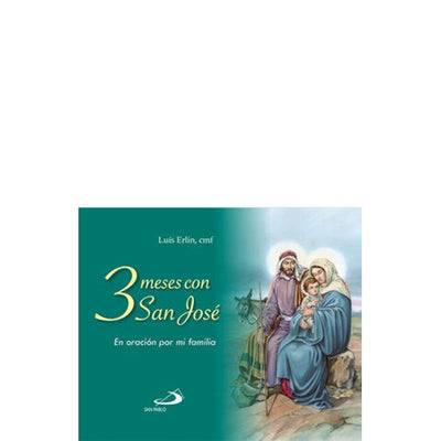 3 Meses Con San José a Luís Erlin, Cmf - Unique Catholic Gifts