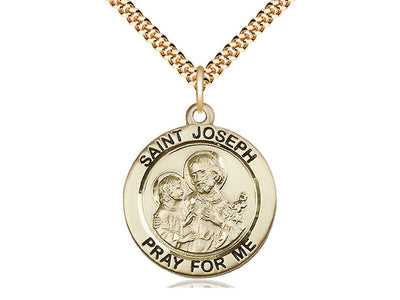 14kt Gold Filled St Joseph - Unique Catholic Gifts