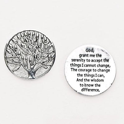 Serenity Pocket Token Coin - Unique Catholic Gifts