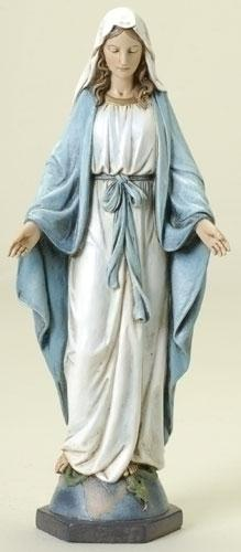 "Our Lady of Grace Statue 10 1/2"" - Unique Catholic Gifts"
