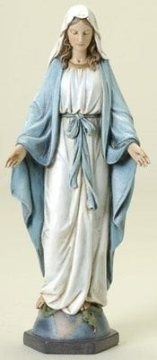 Our  Lady of Grace statue / Figurine 10.5 inches.