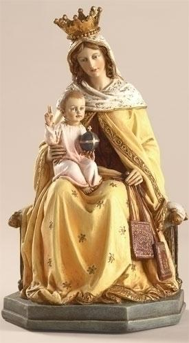 "Our Lady of Mount Carmel Figurine/ Statue (8"") - Unique Catholic Gifts"