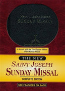 St. Joseph Sunday Missal (hard Cover) - Unique Catholic Gifts