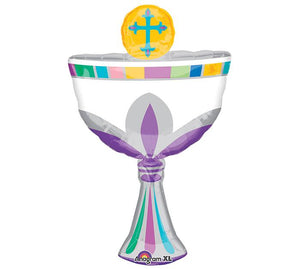 "31""  Communion Cup Balloon - Unique Catholic Gifts"