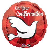 "17"" On Your Confirmation Balloon - Unique Catholic Gifts"
