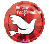 "17"" On Your Confirmation Balloon"